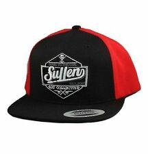 Authentic Sullen Clothing Loyal To The Coil Red/Black Snapback Tattoo Skull Hat