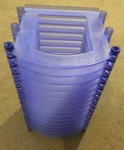 CD holder - blue/lilac colour