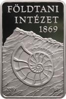 2019 Ungarn 10000 Forint PP Ungarisches Geologisches Institut, 1 oz Silber