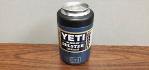 Yeti 12 oz Rambler Colster 2.0 Can Insulator Navy Vacuum Insulated New