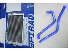 For Yamaha Raptor YFM 700 R YFM700R 2006-2012 11 10 Aluminum Radiator And Hose
