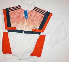 Adidas Originals Mens Brion Snake Skin Track Zip Up Jacket White M AB9698 NWT$90