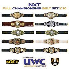 WWE NXT Belts Full Custom Set x 10 for Mattel/ Jakks /Hasbro/Elite Figures