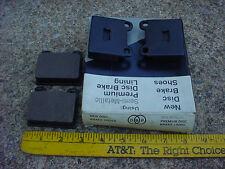 75 76 77 78 79 80 VW RABBIT DISC BRAKE PADS SCIROCCO 73 74 AUDI FOX
