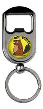 Nice Beaver (Naked Gun) Standard Bottle Opener /Keyring