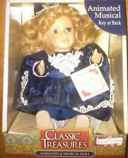 Classic Treasures Animated & Musical Porcelain Doll