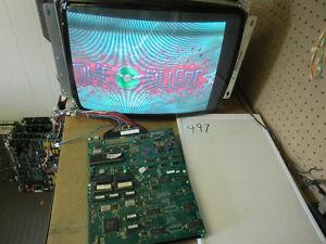TIME KILLERS - 1992 Strata - Guaranteed Working jamma arcade PCB - FREE SHIPPING