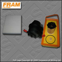 SERVICE KIT FORD FUSION 1.4 TDCI FRAM OIL AIR FUEL CABIN FILTERS (2002-2012)