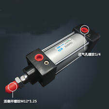 SC 40X125 Bore 40mm Stroke 125mm Single Rod Double Action Pneumatic Air Cylinder