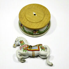 San Francisco Music Box Company Vintage *Horse* Musicbox - For Parts or Repair