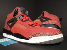 NIKE AIR JORDAN SPIZIKE TORO BRAVO FIRE RED BLACK CEMENT GREY 315371-601 10.5