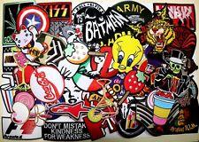 WHOLESALE Lot 50 Punk Rock Biker Car Cartoon Skull Shirt Jacket Iron on patch #3