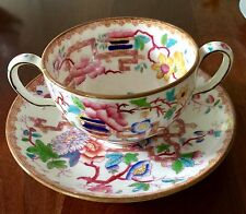 Minton Chinese Tree Bouillon Cup And Saucer, Antique