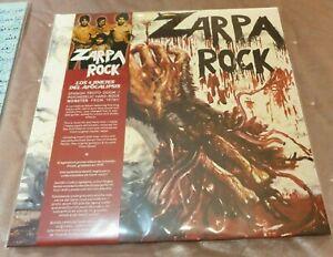 """ZARPA ROCK-LOS 4 JINETES DEL APOCALIPSIS 12""""LP REEDICION 2021-OBUS-PANZER"""