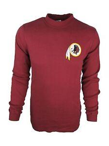 Washington Redskins NFL Team Apparel Men's Big & Tall Mock Long Sleeve Shirt