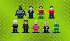 Lego Batman 76052 Minifigures set of 9 Figures