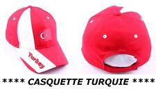 CASQUETTE TURQUIE Homme Femme Fille Garçon no maillot drapeau fanion écharpe ...
