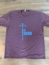 mens Bikes & BEER t shirt Medium