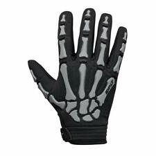 Paintball Exalt Death Grip Paintball Full Finger Gloves Black Grey - Small New