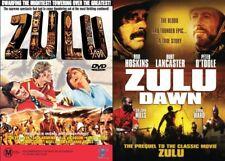 ZULU + ZULU DAWN - 2 DVD SET -  NEW & SEALED DVD - FREE LOCAL POST