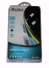 Moniteur por Real De Fibra 0.75m Cable De Audio Digital óptica Toslink Cable - ** nuevo **
