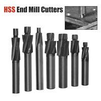 Schaftfräser Bohrer CNC Fräser Senker Bohrer Werkzeug M3.2-M12.4 HSS-AL 4 Flöten