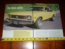 1975 CHEVROLET NOVA SS - ORIGINAL 2007 ARTICLE