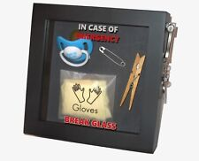 NEW PARENT/MUMMY/DADDY GIFT In Case Of Emergency Break Glass Box Frame Mum Dad