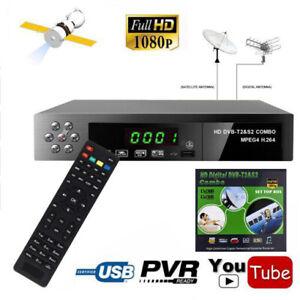 DVB-T2+S2 COMBO DVB-T2&DVB-S2 HD 1080P Digital Satellite TV BOX USB WIFI+Remote