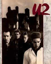 U2 1985 UNFORGETTABLE FIRE U.S. TOUR CONCERT PROGRAM BOOK
