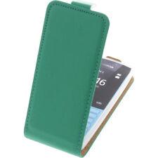 BOLSA para Nokia 216 Funda protectora Teléfono Móvil Funda con tapa Funda Verde