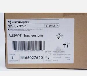 Smith&Nephew 66027640 ALLEVYN Tracheostomy Dressing 3-1/2 x 3-1/2in - Case of 80