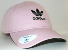 Adidas WM Originals Relaxed Strapback Hat/Cap Clear Pink/Black Womens Fit BH7140