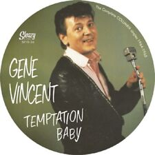 GENE VINCENT 25 CM 10 inch LP Temptation Baby Columbia Singles - PICTURE DISC