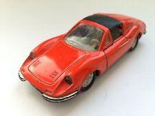 Norev Jet Car-Ferrari 246 GTS Dino France 1972 (Metal) Original 1/43