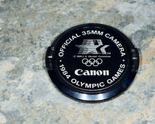 Genuine Canon FD 1984 Olympic Summer Games C 52mm Snap-On Front Lens Cap (#1941)
