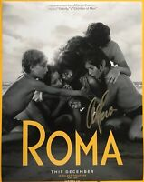 ROMA Alfonso Cuaron Signed Autographed 11x14 Photo Director NETFLIX