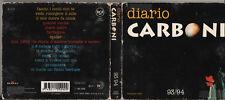 LUCA CARBONI CD Diario Carboni 1A EDIZIONE ORIGINALE DIGIPACK CON DIARO 1993