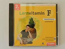 CD ROM Lernvitamin F Französisch 2. Lernjahr Komplettrainer