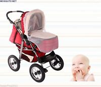 Baby Buggy Pram Pushchair Protector Fly Mesh Mosquito Net Midge Insect Bug EU