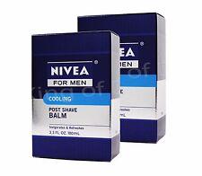 2 Pk - Nivea For Men Cooling Post Shave Balm, 3.3 oz