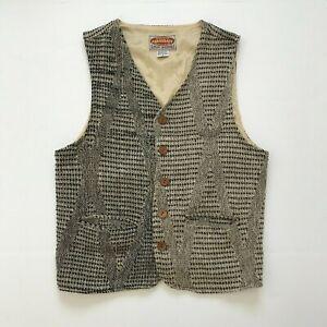 Vintage Exclusive Paragraff Vest Mens Size Small