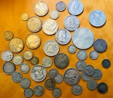 More details for 265 grams of silver coins gb,usa, germany,austria hong kong canada.