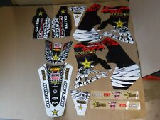 TEAM HONDA ROCKSTAR  GRAPHICS 1995 1996 97 CR125 CR125R & 1995 1996 CR250R CR250