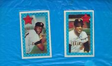 WILLIE MAYS 1971 KELLOGG'S 3D WILLIE McCOVEY SAN FRANCISCO GIANTS ! !