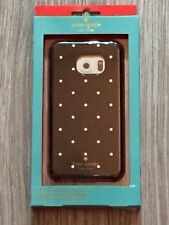 Kate Spade Hybrid Hardshell Case Black with White Dots for Samsung Galaxy S6