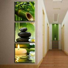 3 Panels Wall Printing Bamboo Picture Canvas Art Oil Home Decor Unframed Modern