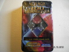 Set of Vegas Nights 100 Deluxe Poker Chips