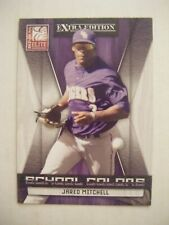 JARED MITCHELL SP RC LSU TIGERS 2009 Donruss Elite SCHOOL COLORS baseball card 5