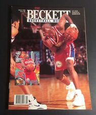 Beckett Basketball Card Monthly January 1996 #66 Jerry Stackhouse Cover